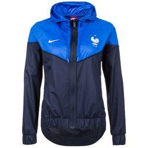 Nike Frankfreich Windrunner Trainingsjacke Damen dunkelblau / blau