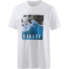 Oakley SWC-PALM WAVES T-Shirt Herren White