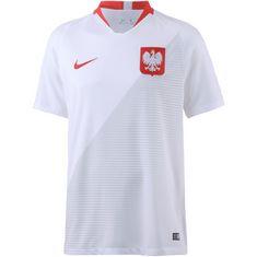 Nike Polen 2018 Heim Fußballtrikot Herren white-sport red-sport red