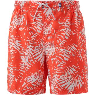 TOM TAILOR Junias Badeshorts Herren mandarin red aop