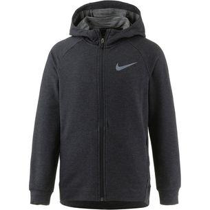Nike Hoodie Kinder black-htr