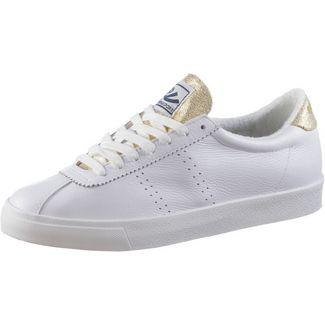 Superga COMFLEALAME Sneaker Damen white gold