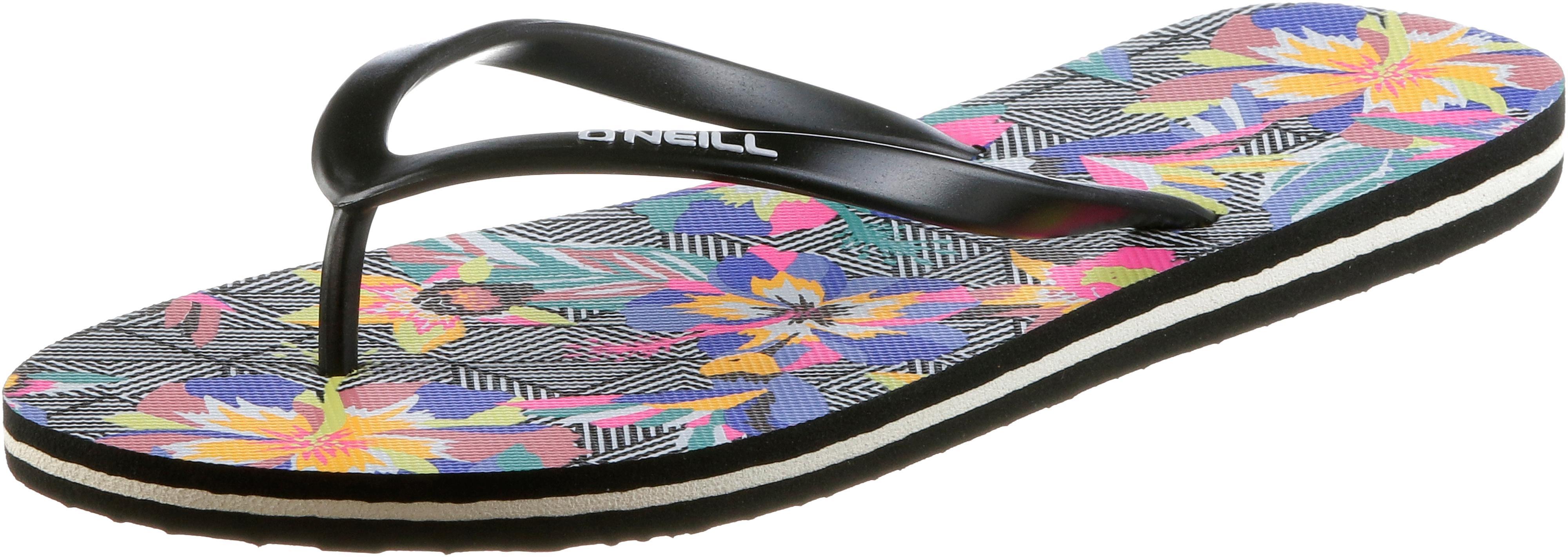 O'NEILL TROPADELIC PRINT Zehentrenner Damen schwarz GRAPHIC SMALL W  Rosa im Online Shop von SportScheck kaufen Gute Qualität beliebte Schuhe