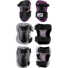K2 CHARM PRO JR PAD SET GIRLS Protektorenset Kinder black/pink