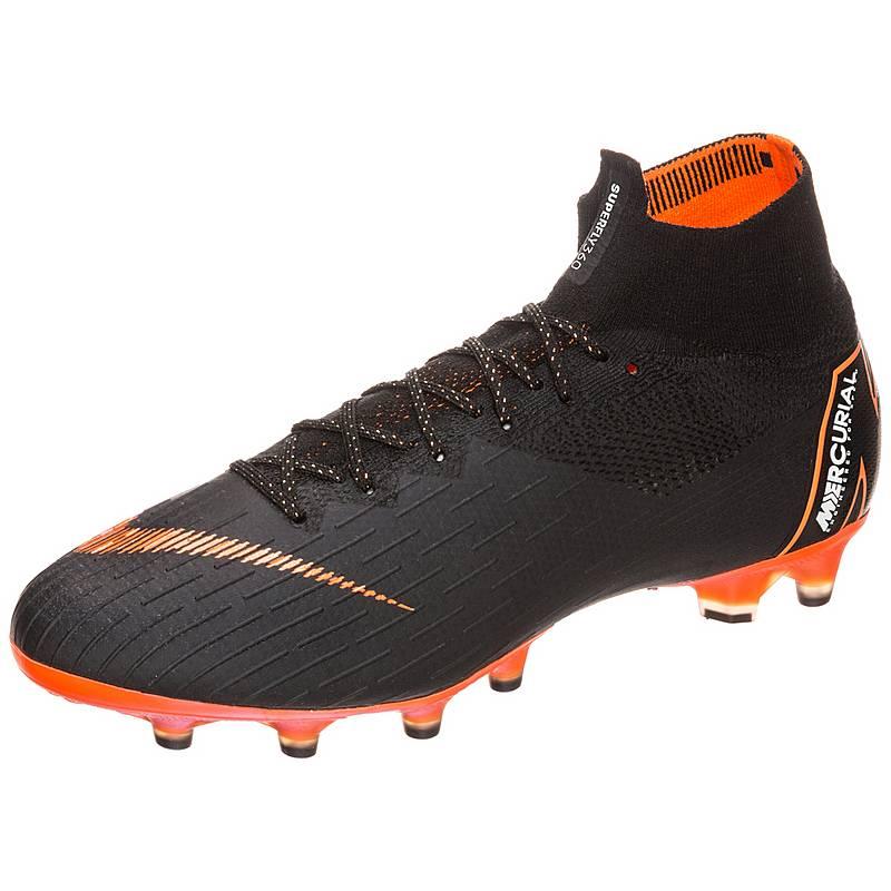 online retailer efb02 54f75 Nike Mercurial Superfly VI AG-Pro Fußballschuhe Herren schwarz  orange