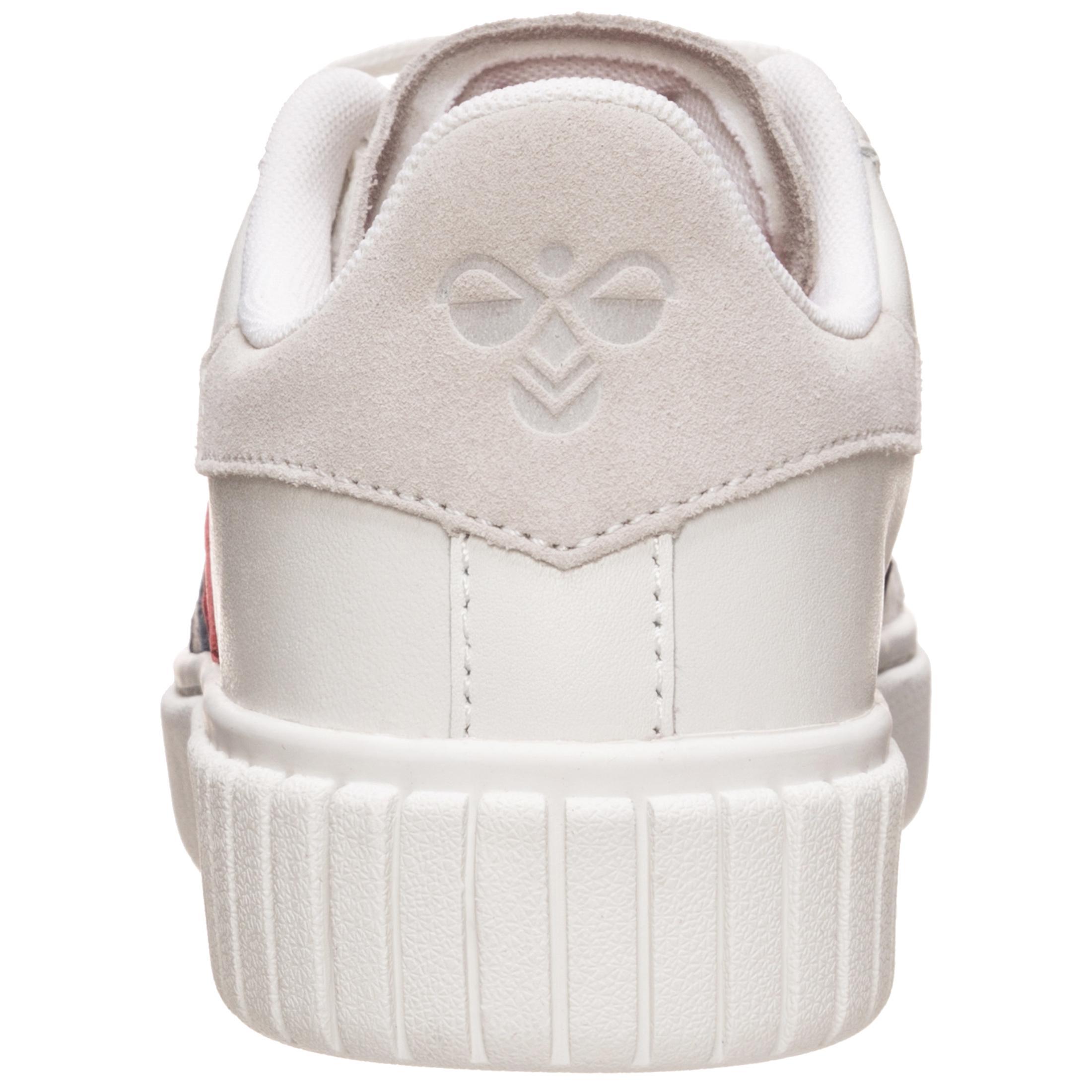 Hummel Sneaker Aarhus Classic Niedrig Sneaker Hummel Damen weiß / blau / rot im Online Shop von SportScheck kaufen Gute Qualität beliebte Schuhe 735a40