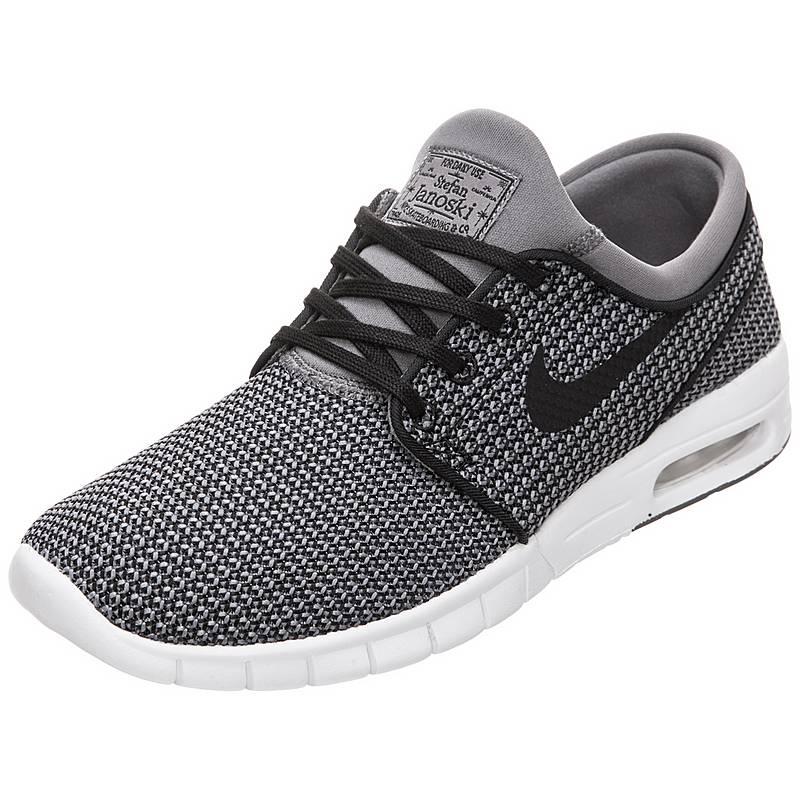 best sneakers 07b5d 236dd Nike Stefan Janoski Max Sneaker Herren grau  schwarz