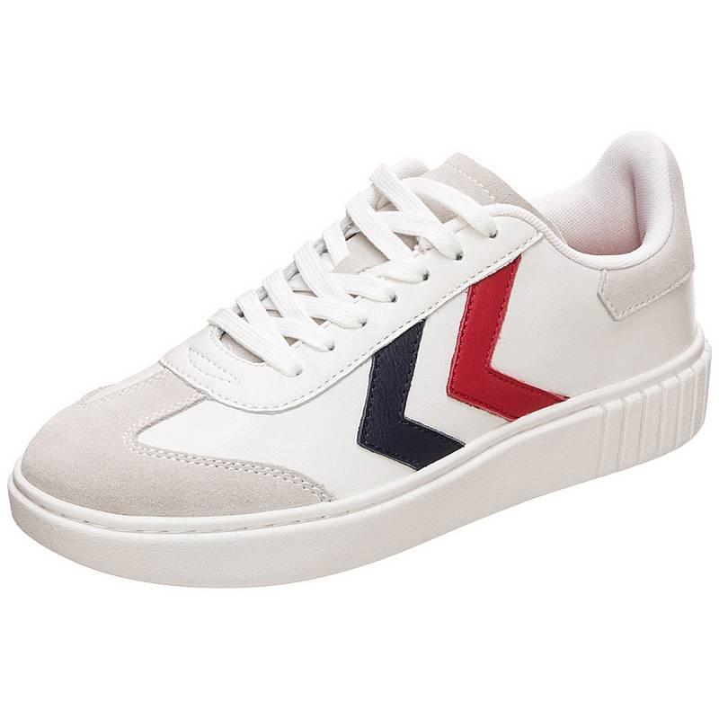 premium selection 050a5 fd0b3 hummelAarhus Classic Low SneakerDamen weiß   blau ...