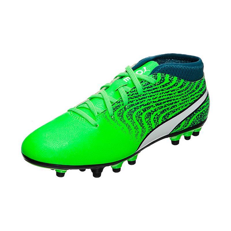 »Puma One« Fußballschuh, grün, hellgrün-grün Puma