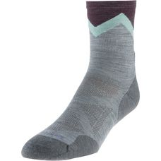 Smartwool PhD Outdoor Approach Crew Wandersocken Damen light gray