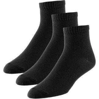 unifit 3er Pack Socken Pack schwarz