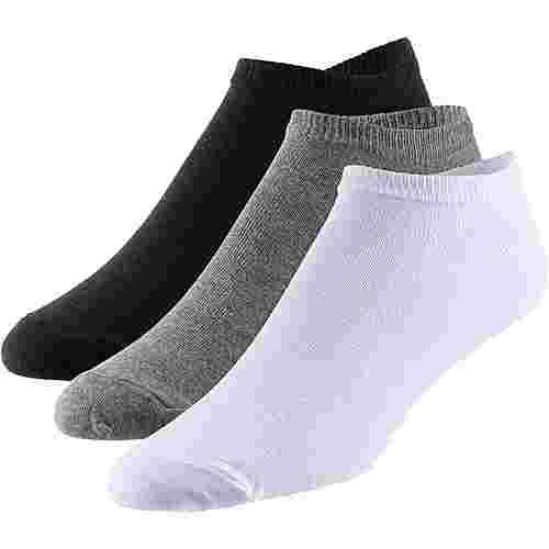 unifit 3er Pack Socken Pack schwarz-weiß-grau