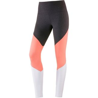 Onzie High Rise Track Tights Damen peach pink majestic combo
