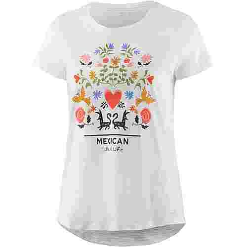 TOM TAILOR T-Shirt Damen off-white