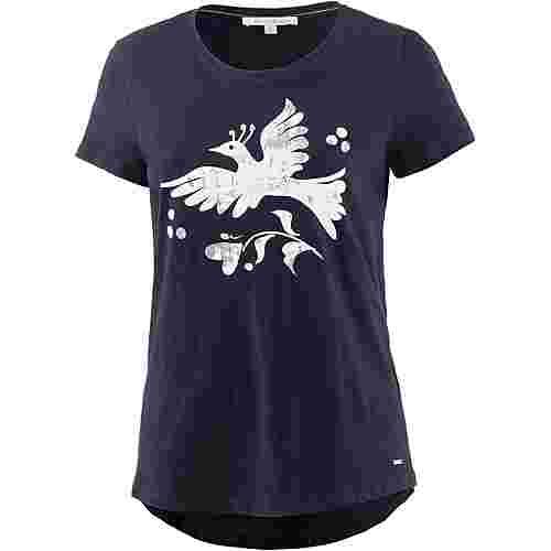 TOM TAILOR T-Shirt Damen real-navy-blue