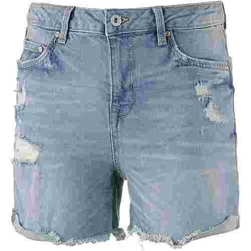 TOM TAILOR Jeansshorts Damen light-stone-wash-denim