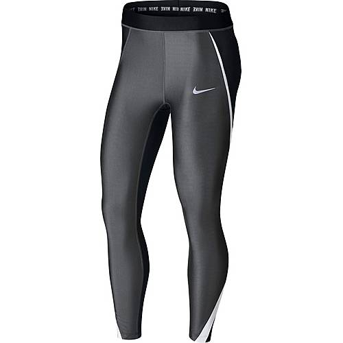 Nike Power Speed Lauftights Damen anthracite-black-white