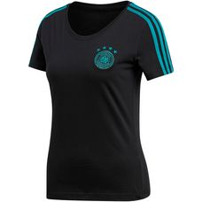 adidas DFB WM 2018 Fanshirt Damen black/eqtgreen