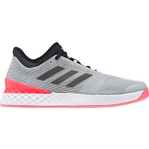 adidas adizero ubersonic 3 Tennisschuhe Herren matte silver-core black-flash red