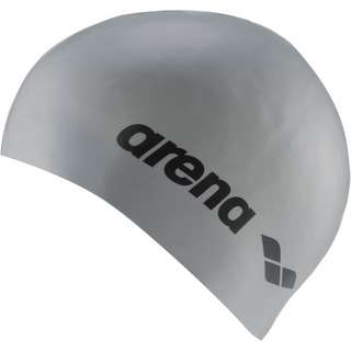 Arena Classic Silicone Badekappe silber