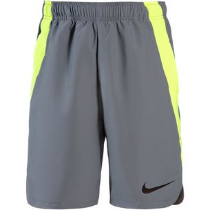 Nike Shorts Kinder cool grey-volt