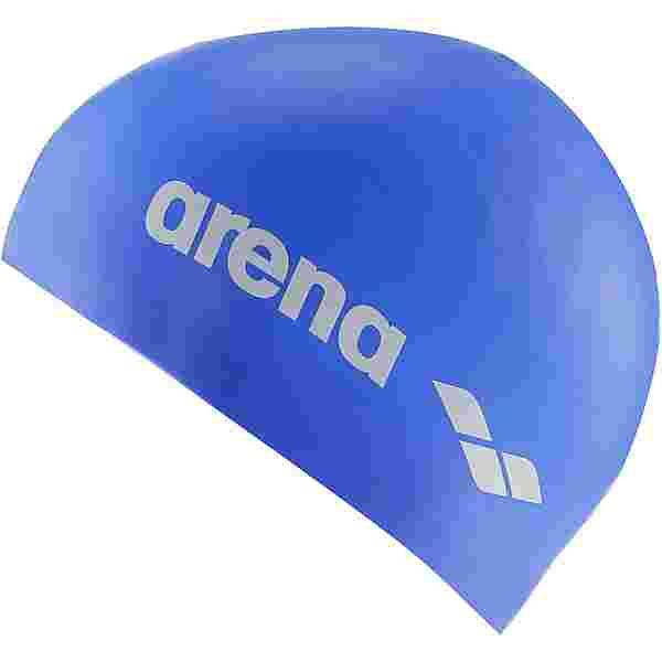 Arena Classic Silicone Jr Badekappe Kinder blau