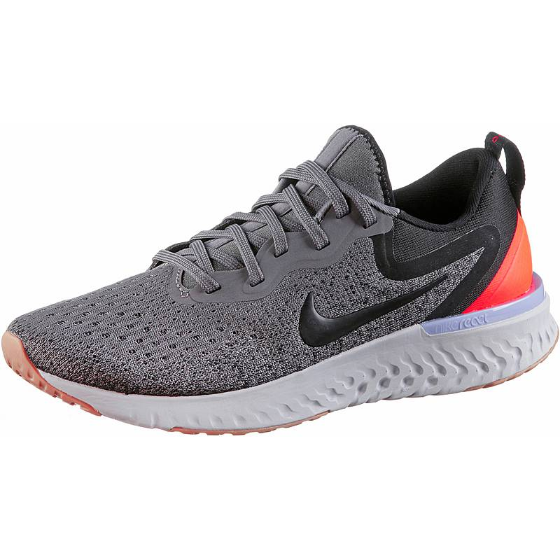 finest selection f68f9 88c93 Nike ODYSSEY REACT Laufschuhe Damen gunsmoke-black-twilight-pulse