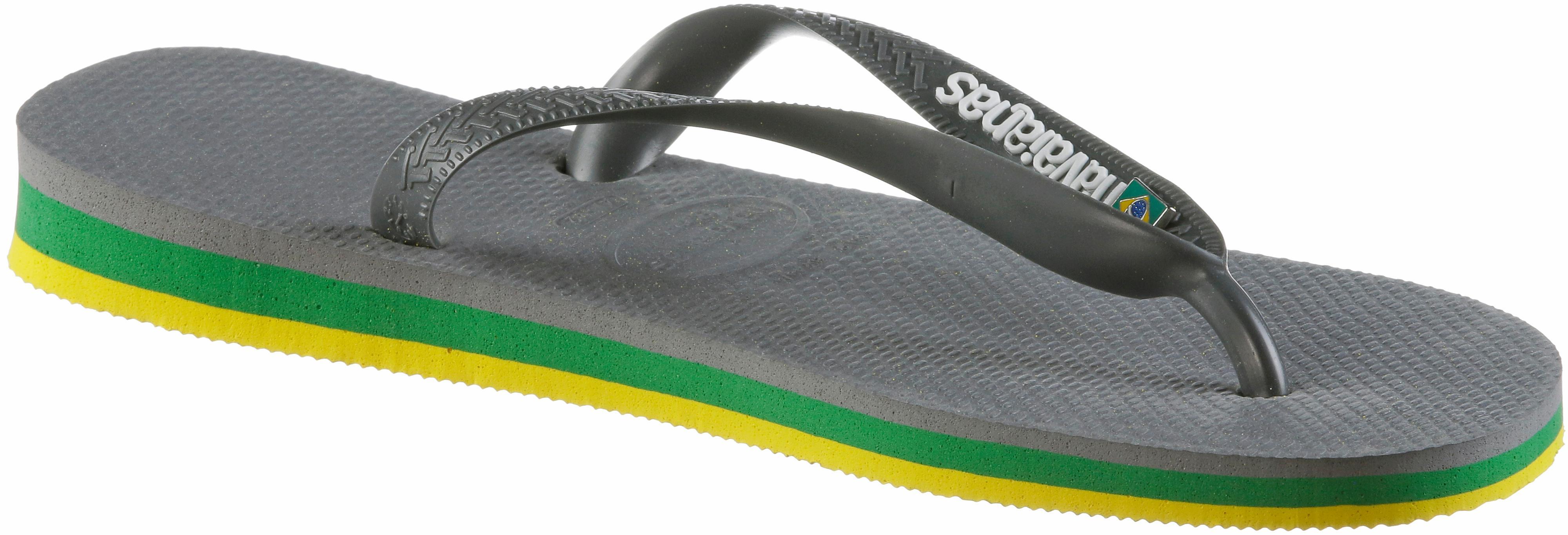 Havaianas BRASIL LAYERS Zehentrenner steel-grau im Online Shop Shop Shop von SportScheck kaufen Gute Qualität beliebte Schuhe 81bdda