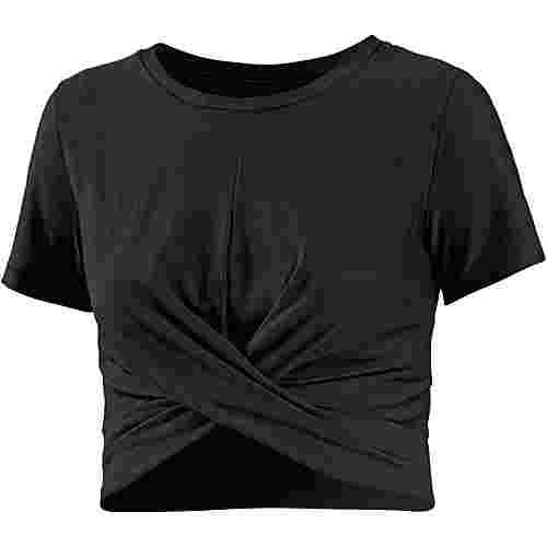 Under Armour Lightweight Lux Funktionsshirt Damen black-metallic iron