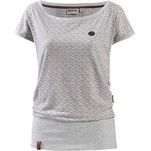 Naketano SCHLUMMERNDES INFERNO T-Shirt Damen crazy-love-amazing-grey-melange 293af84679