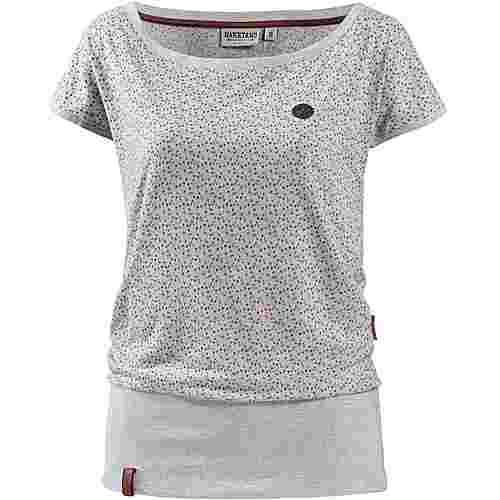 Naketano SCHLUMMERNDES INFERNO T-Shirt Damen crazy-love-amazing-grey-melange