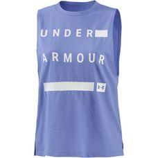 Under Armour Muscle Tanktop Damen talc blue-white