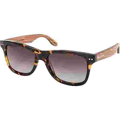 WOOD Fellas Plassenburg Sonnenbrille zebrano