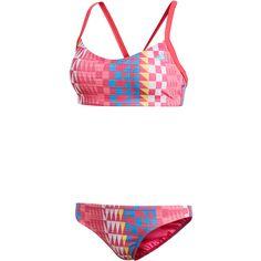 adidas Bikini Set Damen real pink