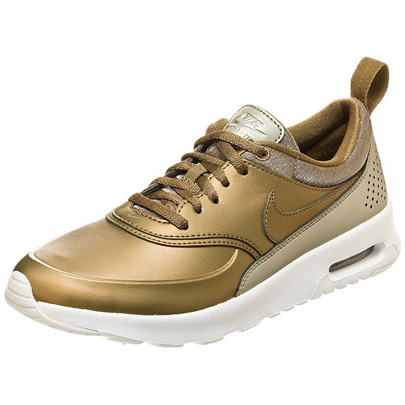 the latest 0ef41 2f2a8 Nike Air Max Thea Premium Sneaker Damen grün  weiß