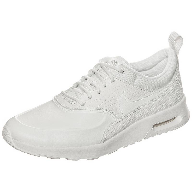 pick up eace4 7c346 Nike Air Max Thea Premium Leather Sneaker Damen beige  weiß