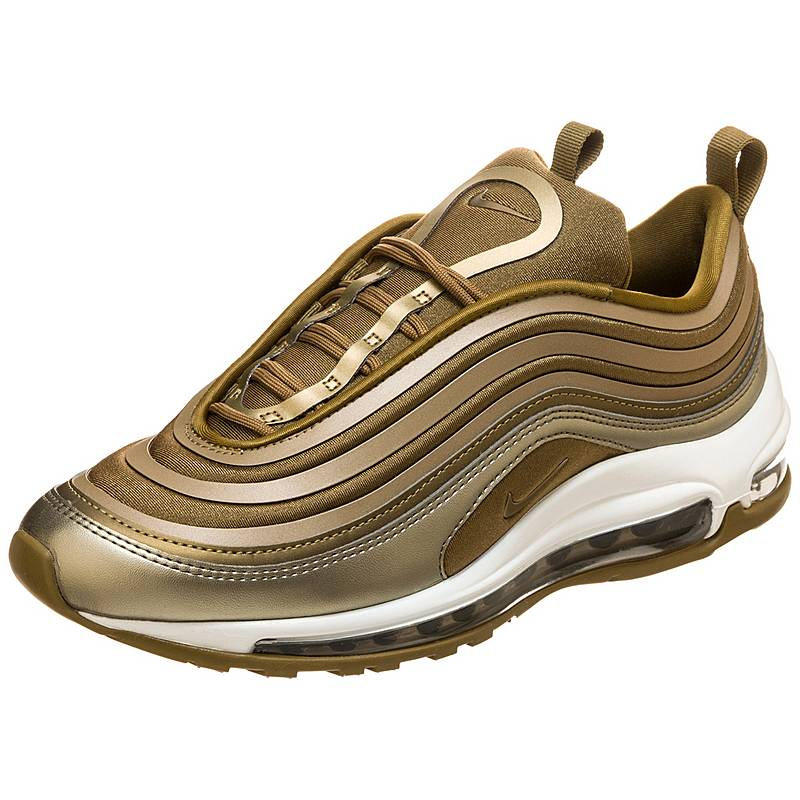 646c4a3b07e704 ... Nike Air Max 97 Ultra Light Sneaker Damen gold weiß ...