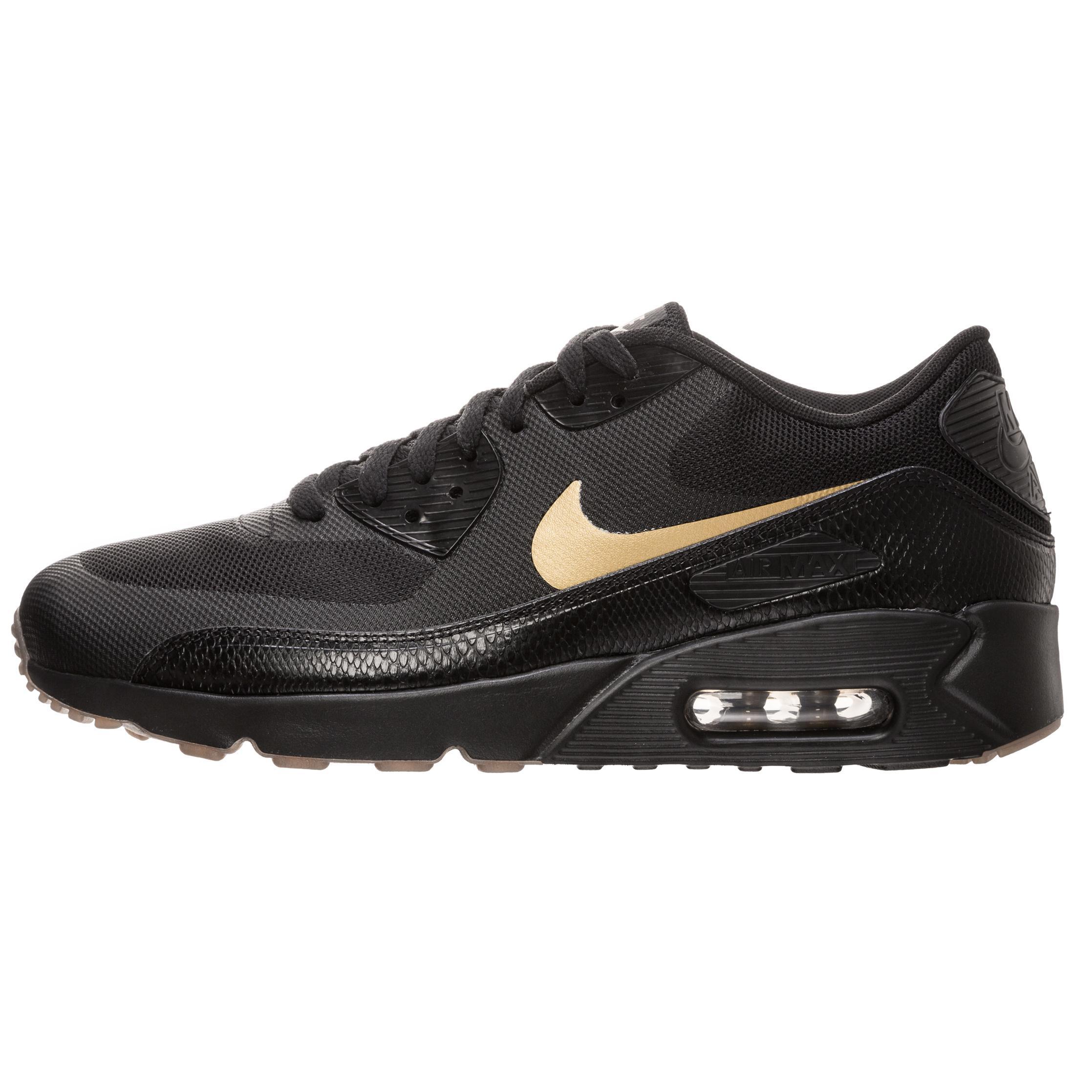 online store 090d5 42c66 Nike Air Max 90 Ultra 2.0 Essential Sneaker Herren schwarz   gold im Online  Shop von SportScheck kaufen