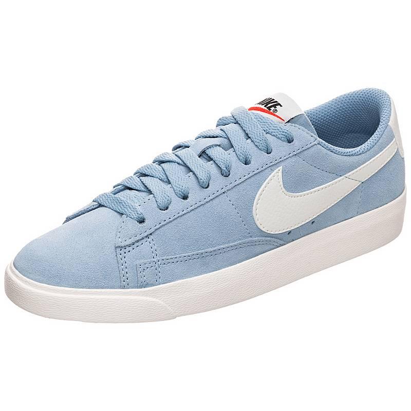 7ba3b38da870 Nike Blazer Low Sneaker Damen hellblau   weiß im Online Shop von ...