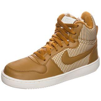 Nike Court Borough Mid SE Sneaker Damen braun / beige