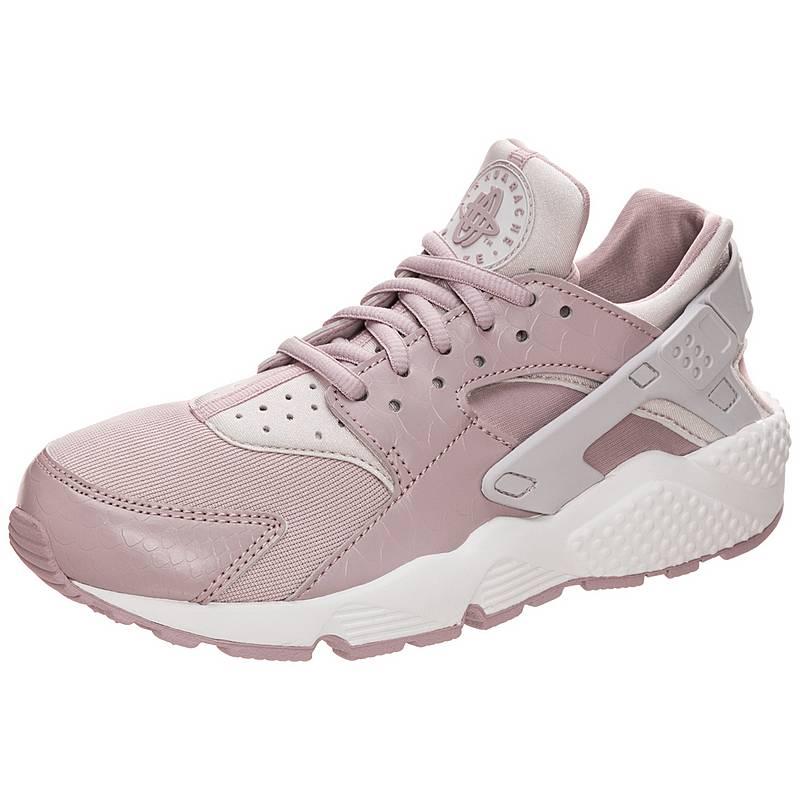 great fit eb7d9 b5c89 ... coupon for nike air huarache run sneaker damen rosa grau weiß a5e9c  0f5f1