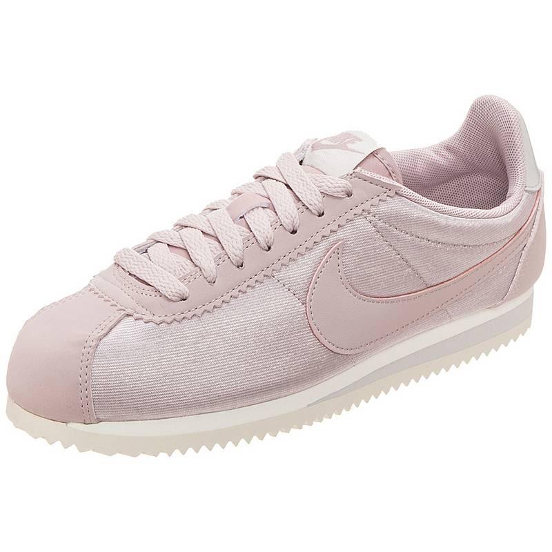Nike Classic Cortez Nylon Sneaker Damen rosa   grau im Online Shop ... 0cb6399bd3