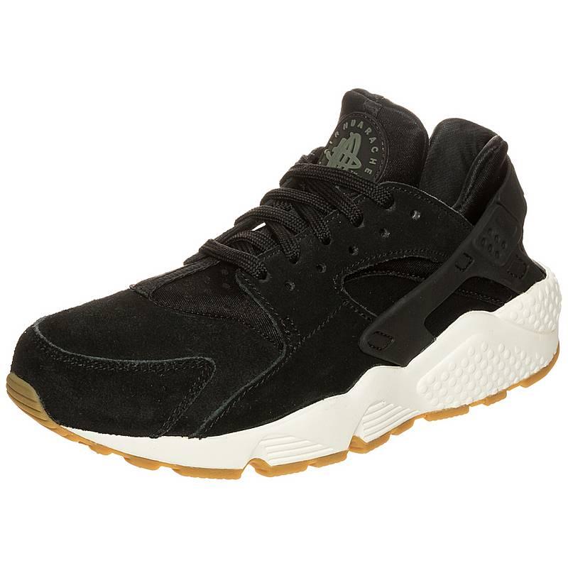 sports shoes 37a58 4b4c7 Nike Air Huarache Run Ultra Sneaker Damen schwarz  weiß