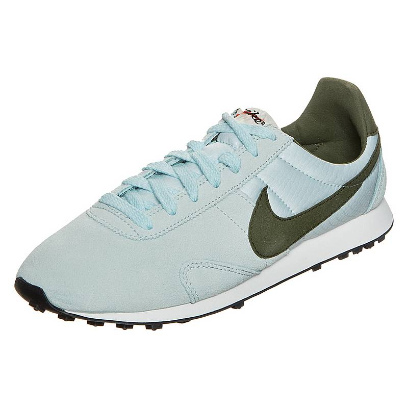 sports shoes 5f39f 7c797 NikePre Montreal Racer Vintage SneakerDamen hellblau   oliv