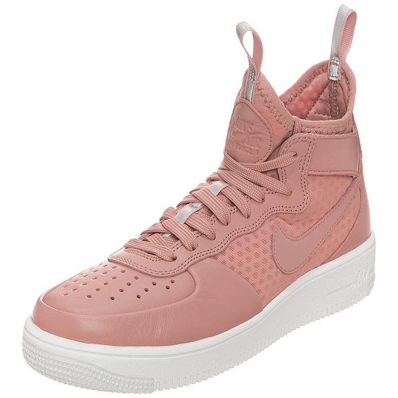 Nike Air Force 1 07 Mid Leder Premium Haferflocken BraunHaferflocken BraunSchwarzHaferflocken Braun Herren Damen Sneaker günstig online kaufen