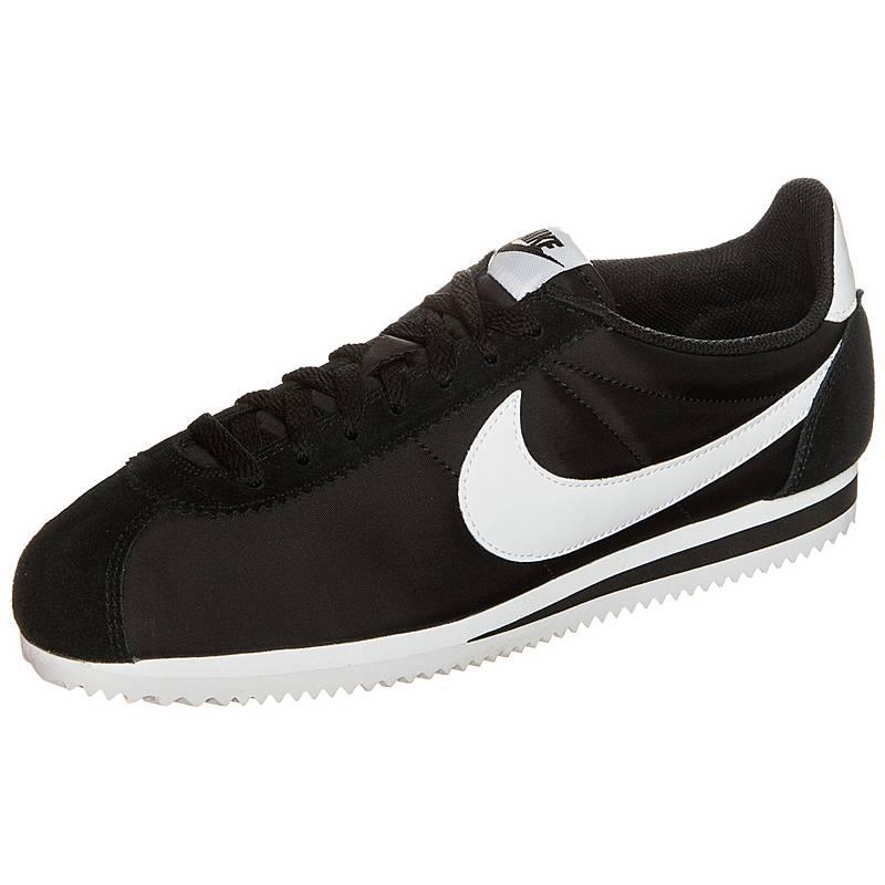 timeless design b2d33 cfaae Nike Classic Cortez Nylon Sneaker Herren schwarz  weiß