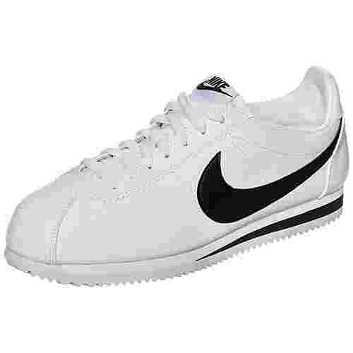 Nike Classic Cortez Leather Sneaker Herren weiß / schwarz