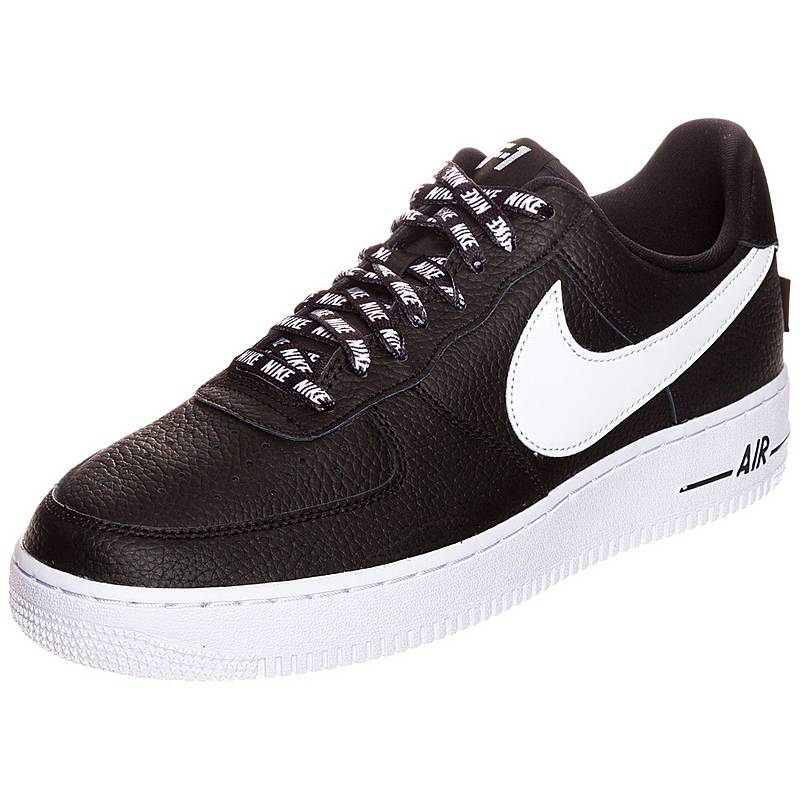 separation shoes 5a0a4 6b5ec ... promo code for nike air force 1 low 07 nba sneaker herren schwarz weiß  d0dbd a7d6c
