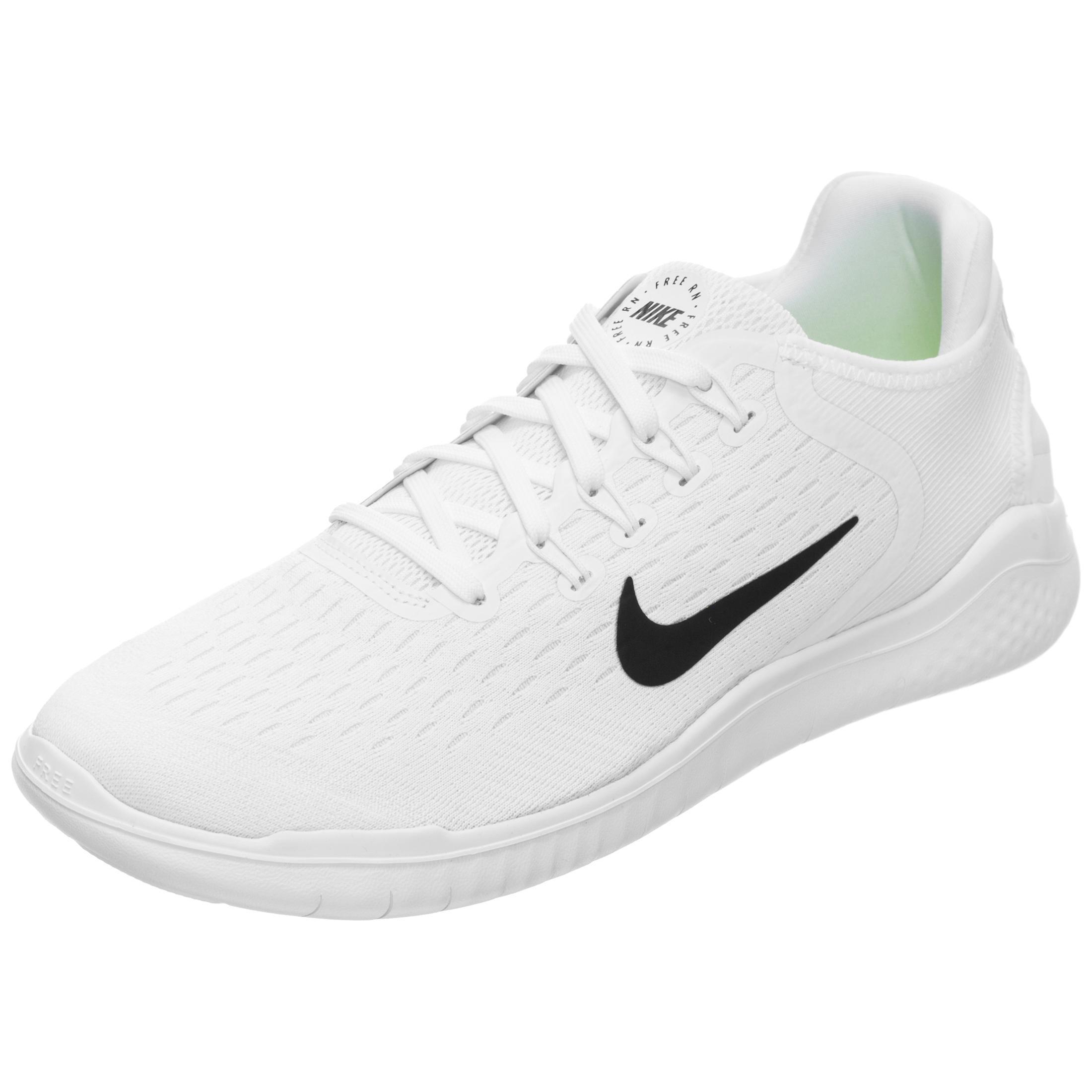 Nike Free RN 2018 Laufschuhe Damen weiß / schwarz im Online Shop von  SportScheck kaufen