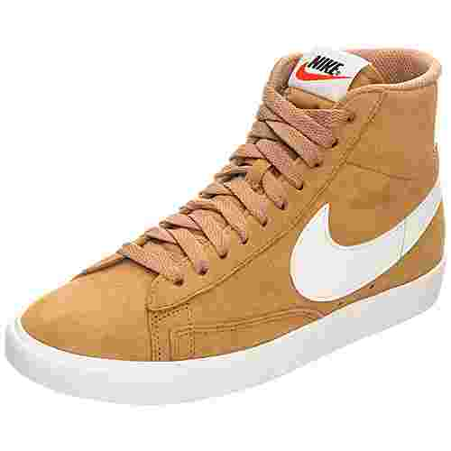 buy online de2b9 be580 Nike Blazer Mid Suede Vintage Sneaker Damen braun  beige  weiß